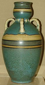 LOUIS LOURIOUX FRENCH ART DECO VASE