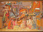 Jack Wolfe, Original Abstract Oil Painting