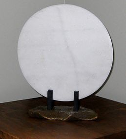 XAVIER CORBERO MARBLE AND BRONZE SCULPTURE