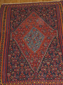 ANTIQUE SENNEH KILIM 1910-1920