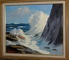 "SAM SARGENT, ""RESTLESS SEA I"", CIRCA 1950"