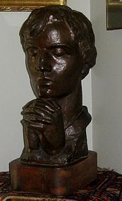 "IRMA ROTHSTEIN ""PRAYER"" BRONZE SCULPTURE CIRCA 1938-1940"