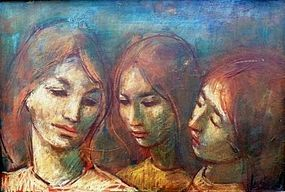 "JAN DE RUTH ""THREE SISTERS""  1960S"