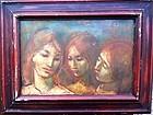 """JAN DE RUTH """"THREE SISTERS""""  1960S"""
