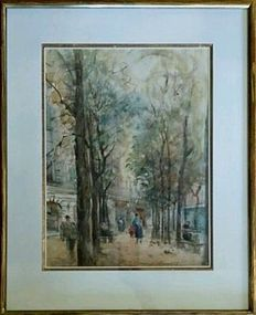 "GEORGES-DOMINIQUE ROUAULT ""SQUARE A PARIS"""