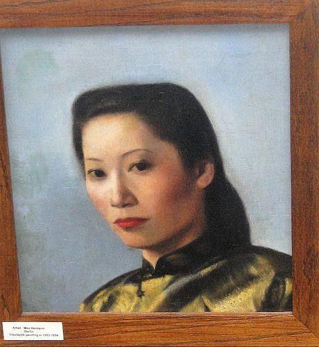 MAX HEIMANN ORIGINAL PORTRAIT SHANGHAI PERIOD
