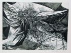 "WENDELL H. BLACK ""THISTLES AND WINGS"" ETCHING 1956"