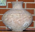 LARGE CANAANITE POTTERY STORAGE JAR BRONZE AGE