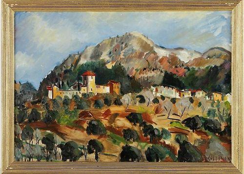 JACQUES KOSLOWSKY ITALIAN LANDSCAPE 1945