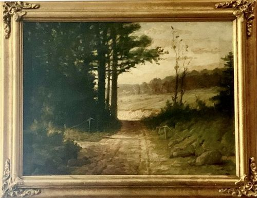 PHILIP A. BUTLER ORIGINAL OIL PAINTING ON CANVAS