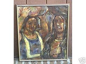 "Maurice Becker, ""Two native women"""