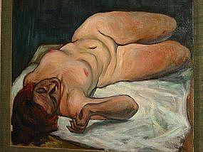 "David  Day, ""Reclining Nude"""