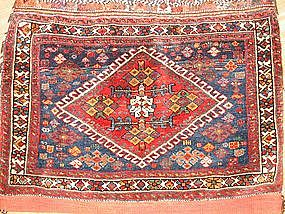 Antique Afshar complete bag, pre-1900