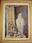 "ABRAHAM MARK DATZ, ""The Vertical Way"", 1956"