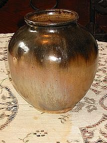 Early Pierre Greber Vase, France, circa 1930