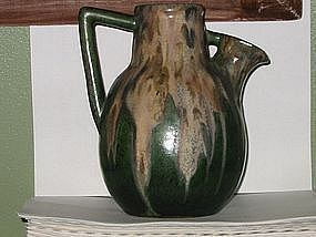 Large Greber pitcher, French, Art Nouveau