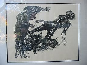 """MARCELLO GRASSMANN, """"Casting out the demons"""""""