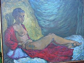 "David Day, ""Reclining Nude"""