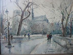 """Georges-D.  Rouault, """"Notre Dame"""""""