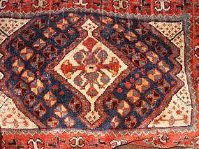 Antique Shiraz Saddlebag, Nineteenth Century