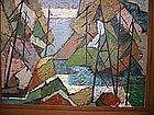 """Mary-Lou Kuhl, """"Northwest Landscape"""""""