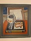 "Max Heimann, ""Still life with gold fish"""