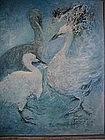 """Mary-Lou Kuhl, """"Three birds"""""""
