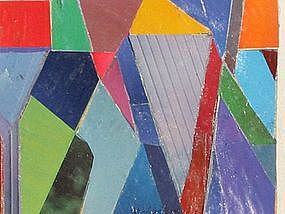 Loran AD Montgomery, Untitled Abstract Collage, 82