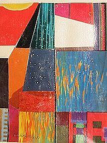 "Loran AD Montgomery, ""Studio Flicker"", 1983"