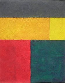 Jerry Byrd, Original Acrylic Painting, 1978