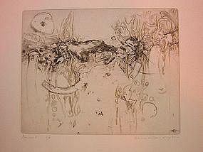 """Wendell H. Black, """"Genesis I"""", Intaglio, 1955"""