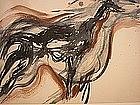 """Wendell H. Black, """"Dead Deer At Neskowin"""", 1957"""