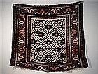 Antique Kurdish Star Design Bag Front