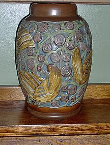 Large Mougin Nancy Art Deco Vase, circa 1920