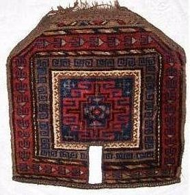 Antique Baluch Saddle Cover
