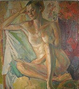 "ANTHONY TONEY, ""Study of a Woman"", 1957"