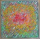 "Ed Kerns, ""Strands Grow"", Original oil on canvas, 1965"