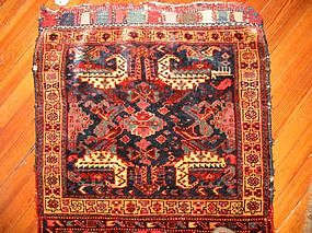 Antique Kurdish Bagface with extra panel