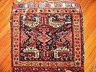 Antique Kurdish Bagface with extra panel