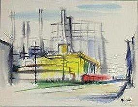 JACK SCHNITZIUS, ALICE STREET, 1960