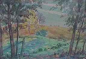 "LEON A. MAKIELSKI, ""FRENCH LANDSCAPE"""