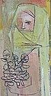 MIRIAM MCKINNIE HOFMEIER, ORIGINAL PAINTING, 1959