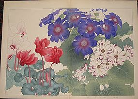 KONAN TANIGAMI, ORIGINAL JAPANESE WOODBLOCK