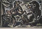 """UMBERTO ROMANO, """"FRIGHTENED HORSES"""""""