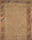 ANTIQUE SYMMETRICALLY KNOTTED BALUCH RUG