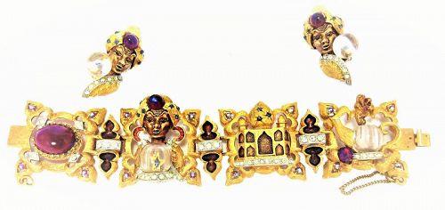 Har Genie Fortuneteller Bracelet and Earrings