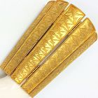 Alexis Kirk Massive Byzantine Revival  Hinged Cuff