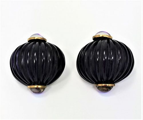 Fabrice, Paris Cast Lucite Earrings