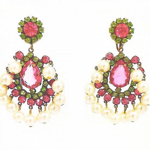 Earliest K.J.L. Drop Earrings