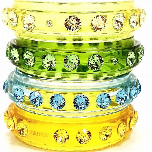 Miu Miu Bangle Bracelet Stack